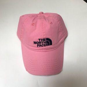 North Face Pink Baseball Cap
